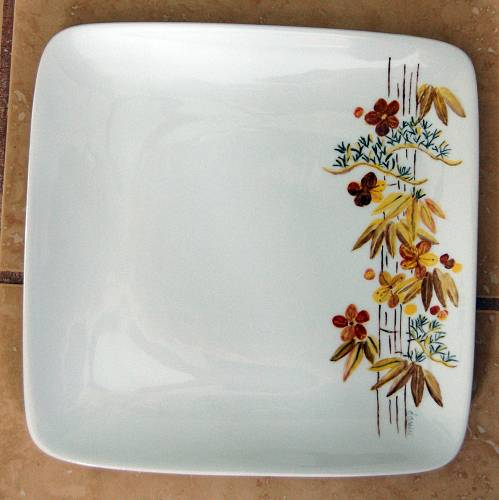 Like Cindyu0027s fish dinner set Dawnu0027s dinner set will have the same design on the right edge of the plates. She has just started with the dinner plates in ... & Betty Gerstneru0027s China Painting Information on the Web - Studentu0027s ...